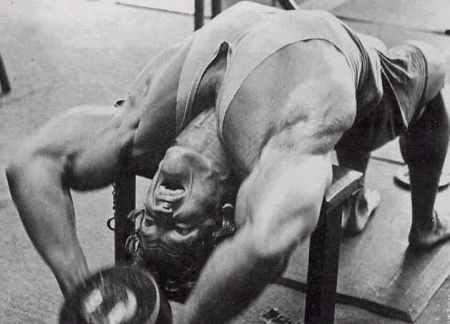 Arnold Schwarzenegger pull over transversal