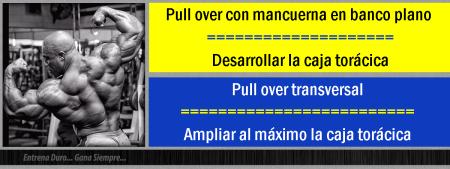 diferencia pull over en banco plano y transversal